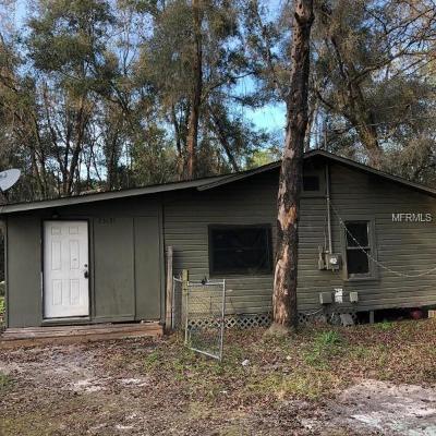 Brooksville Single Family Home For Sale: 25131 Cortez Boulevard