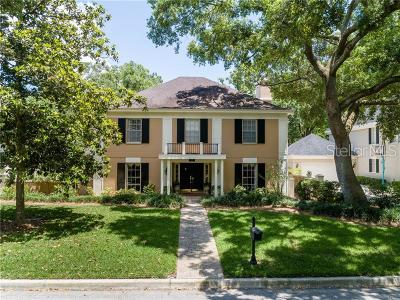 Tampa Single Family Home For Sale: 2602 Merida Lane
