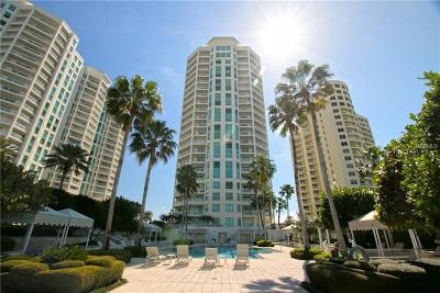 Clearwater Condo For Sale: 1180 Gulf Boulevard #2204