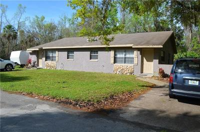 Crystal River Single Family Home For Sale: 492 N Elmwood Point