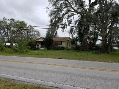 Plant City Single Family Home For Sale: 3425 Thonotosassa Road