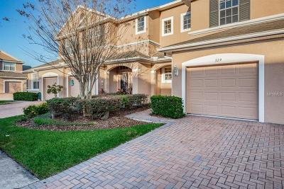 Valrico Townhouse For Sale: 329 Morning Rain Place