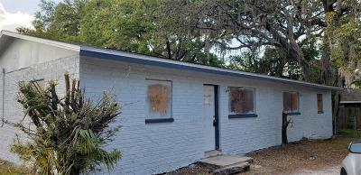 Tampa Single Family Home For Sale: 1716 E Waters Avenue #AB