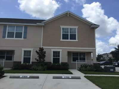 Wesley Chapel Townhouse For Sale: 27506 Desert Willow Way