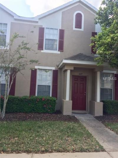 Wesley Chapel Townhouse For Sale: 1429 Sedgwick Drive #1429