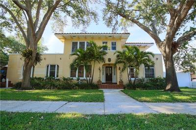 St Petersburg, St Pete Beach, St Petersburg Beach Single Family Home For Sale: 921 32nd Avenue N