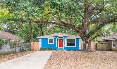 Tampa Single Family Home For Sale: 1709 E Diana Street