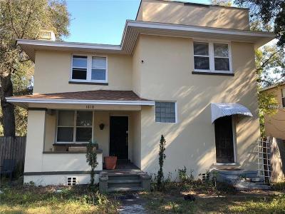 St Petersburg Single Family Home For Sale: 1818 S 14th Street S