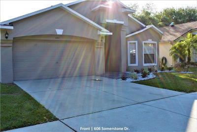 Valrico Single Family Home For Sale: 606 Somerstone Drive