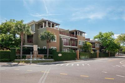 Tampa Townhouse For Sale: 4907 Bayshore Boulevard #108