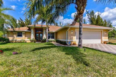 Cape Coral Single Family Home For Sale: 1821 NW 20th Terrace
