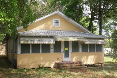Dade City Single Family Home For Sale: 37409 Howard Avenue