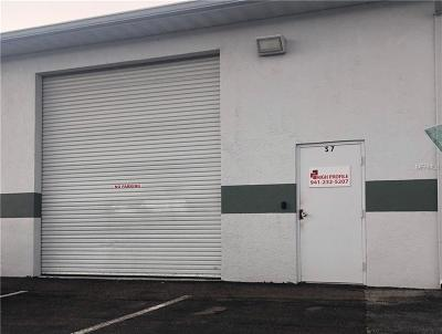 Manatee County Commercial For Sale: 1715 8th Avenue W #S7