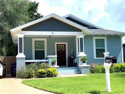 Hillsborough County, Hernando County, Pasco County, Pinellas County Single Family Home For Sale: 818 W Alfred Street