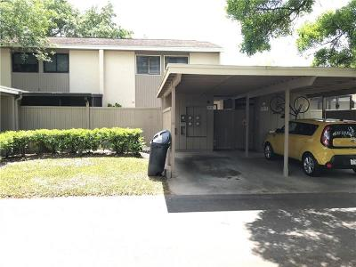 Temple Terrace Townhouse For Sale: 8015 Hibiscus Drive