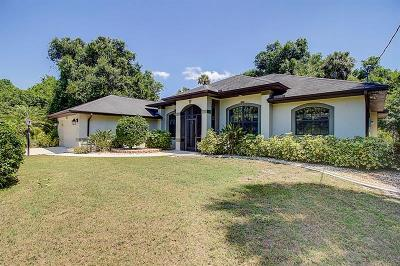 North Port Single Family Home For Sale: 1368 S Haberland Boulevard