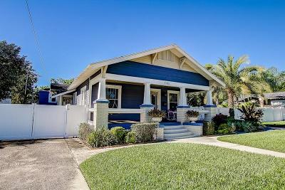 Tampa Single Family Home For Sale: 1103 E Curtis Street