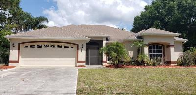 North Port Single Family Home For Sale: 3280 Tupelo Avenue