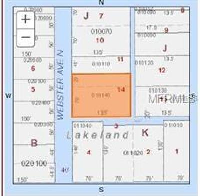 Lakeland Residential Lots & Land For Sale: 1015 N Webster Avenue