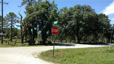 Dade City, San Antonio Residential Lots & Land For Sale: 0 Lake Iola Road