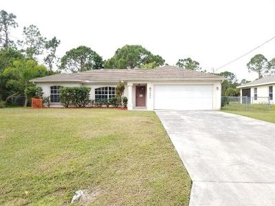 North Port Single Family Home For Sale: 1623 Wise Drive