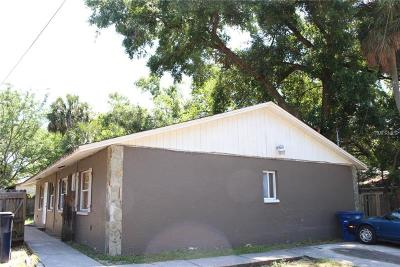 Tampa Multi Family Home For Sale: 8513 N 15th Street