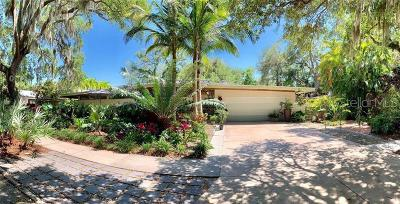 Sarasota Single Family Home For Sale: 1640 Wisconsin Lane