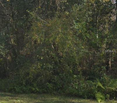 Plant City Residential Lots & Land For Sale: 2301 Gainer Lane