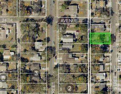 St Petersburg Residential Lots & Land For Auction: 2415 19th Street S