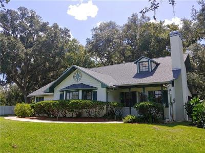 Plant City Single Family Home For Sale: 6501 Stafford Road