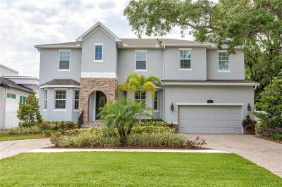Tampa FL Single Family Home For Sale: $1,390,000