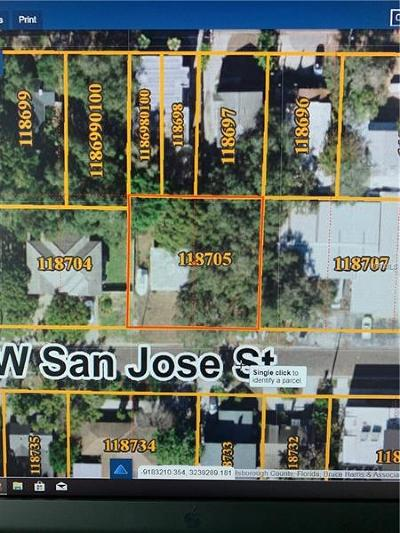 Tampa Residential Lots & Land For Sale: 3109 W San Jose Street