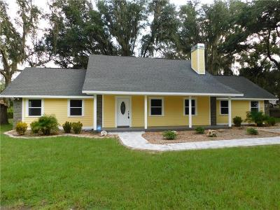 Plant City Single Family Home For Sale: 3112 Bruton Road