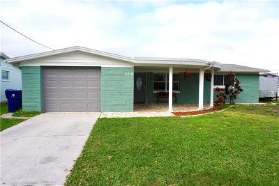 Holiday FL Single Family Home For Sale: $174,900