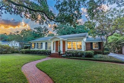 Palma Ceia Single Family Home For Sale: 3311 W San Jose Street