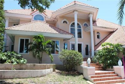 St Petersburg FL Single Family Home For Sale: $2,100,000