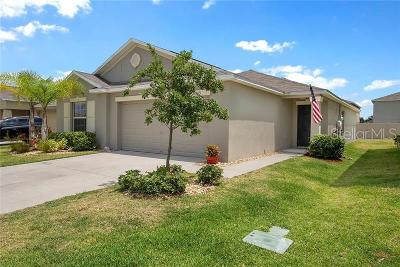 Wimauma Single Family Home For Sale: 16815 Peaceful Valley Drive