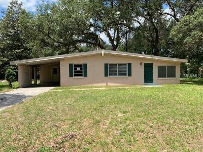 Dade City Single Family Home For Sale: 6025 Leisure Street