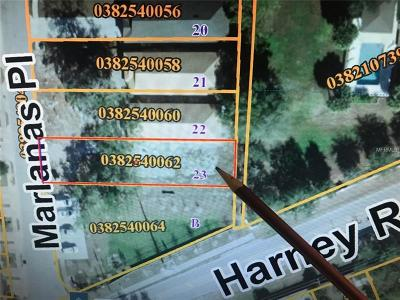 Hernando County, Hillsborough County, Pasco County, Pinellas County Residential Lots & Land For Sale: 8421 Marlanas Place