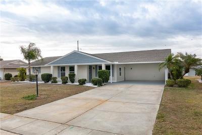 Sun City Center Single Family Home For Sale: 1510 Arrowhead Drive
