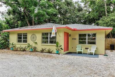 Sarasota Single Family Home For Sale: 1022 24th Street