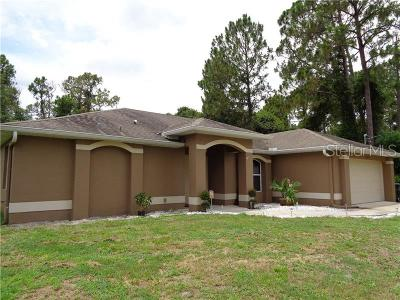 North Port Single Family Home For Sale: 4359 Cromey Road