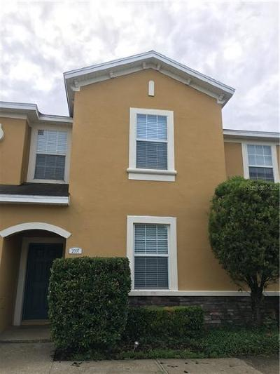 Plant City Townhouse For Sale: 2007 Greenwood Valley Drive