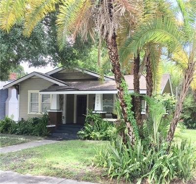 Single Family Home For Sale: 1001 E Ellicott Street