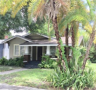 Tampa Single Family Home For Sale: 1001 E Ellicott Street