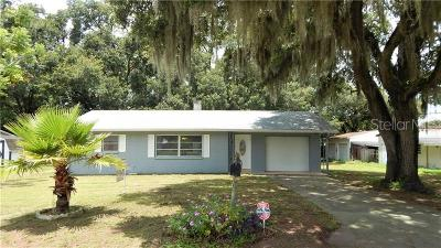 Zephyrhills Single Family Home For Sale: 5933 Wilson Drive