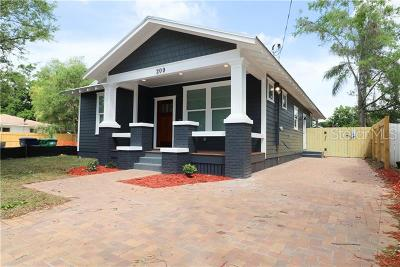 Tampa Single Family Home For Sale: 908 W Coral Street