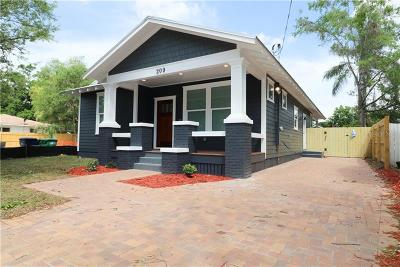 Tampa Single Family Home For Sale: 203 W Woodlawn Avenue