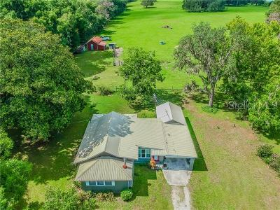 Brooksville Single Family Home For Sale: 25164 Mondon Hill Road