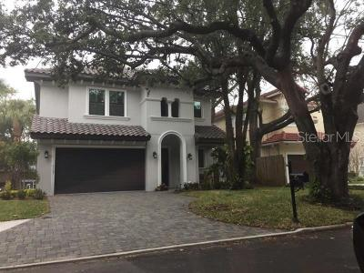 Tampa FL Single Family Home For Sale: $649,000
